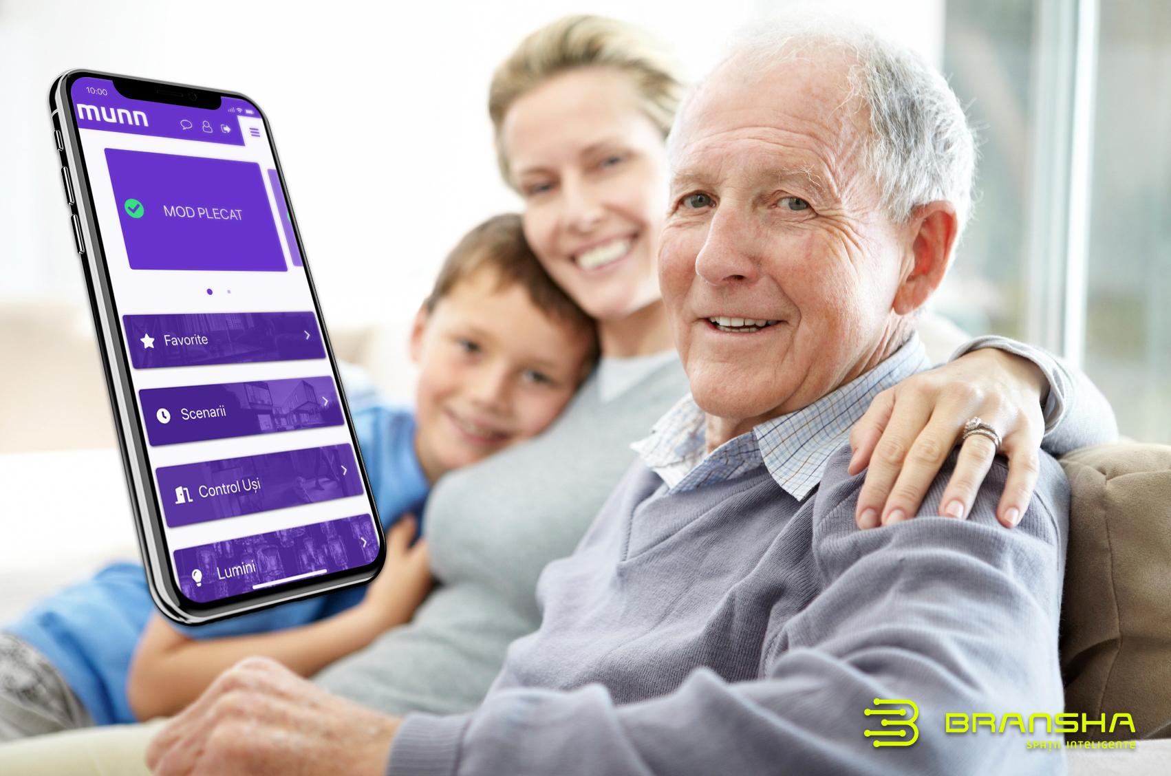 Casele inteligente și cum te vor ajuta la bătrânețe